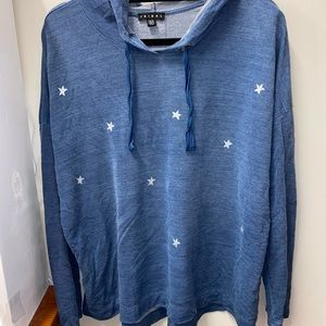 star high low hoodie/sweater